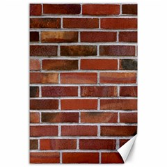 Colorful Brick Wall Canvas 24  X 36  by trendistuff