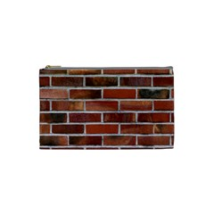Colorful Brick Wall Cosmetic Bag (small)  by trendistuff