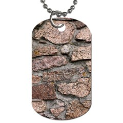 Cemented Rocks Dog Tag (one Side) by trendistuff