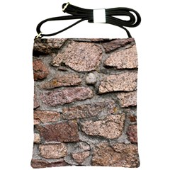 Cemented Rocks Shoulder Sling Bags by trendistuff