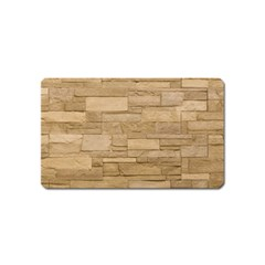 Block Wall 2 Magnet (name Card) by trendistuff