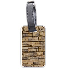Block Wall 1 Luggage Tags (two Sides) by trendistuff