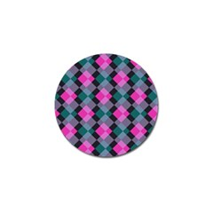Argyle Variation Golf Ball Marker (4 Pack) by LalyLauraFLM