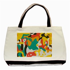 Cubist Art Basic Tote Bag (two Sides) by LalyLauraFLM