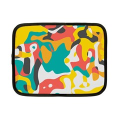 Cubist Art Netbook Case (small) by LalyLauraFLM