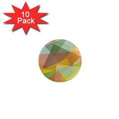 Fading Shapes 1  Mini Magnet (10 Pack)  by LalyLauraFLM