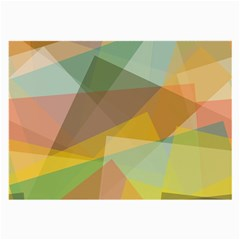 Fading Shapes Large Glasses Cloth (2 Sides) by LalyLauraFLM