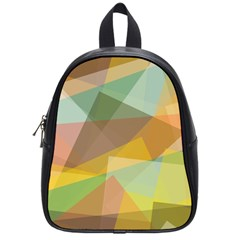 Fading Shapes School Bag (small) by LalyLauraFLM