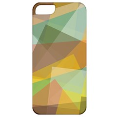Fading Shapes Apple Iphone 5 Classic Hardshell Case by LalyLauraFLM