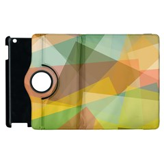 Fading Shapes Apple Ipad 3/4 Flip 360 Case by LalyLauraFLM