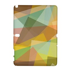 Fading Shapes Samsung Galaxy Note 10 1 (p600) Hardshell Case by LalyLauraFLM