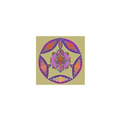 Mandala Shower Curtain 48  X 72  (small)  by Valeryt