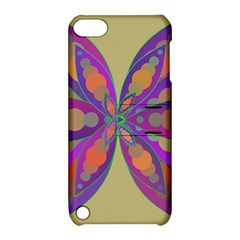 Fly Mandala Apple Ipod Touch 5 Hardshell Case With Stand by Valeryt