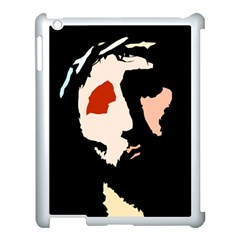 Christ Apple Ipad 3/4 Case (white) by Valeryt