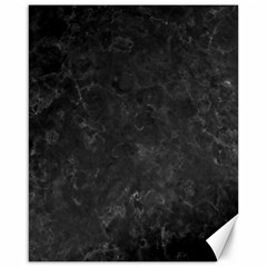Black Marble Canvas 16  X 20   by trendistuff