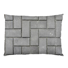 Alternating Grey Brick Pillow Cases by trendistuff