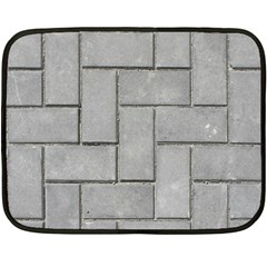 Alternating Grey Brick Fleece Blanket (mini) by trendistuff