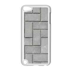 Alternating Grey Brick Apple Ipod Touch 5 Case (white) by trendistuff