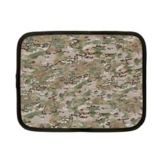 Camo Woodland Faded Netbook Case (small)  by trendistuff