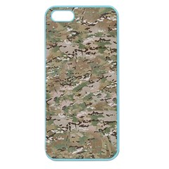 Camo Woodland Faded Apple Seamless Iphone 5 Case (color) by trendistuff