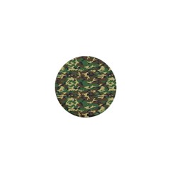 Camo Woodland 1  Mini Magnets by trendistuff