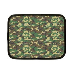 Camo Woodland Netbook Case (small)  by trendistuff