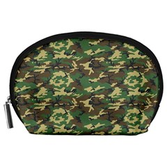Camo Woodland Accessory Pouches (large)  by trendistuff