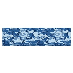 Camo Navy Satin Scarf (oblong) by trendistuff