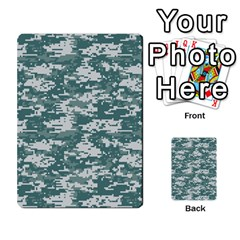 Camo Digital Urban Multi-purpose Cards (rectangle)