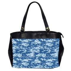 Camo Digital Navy Office Handbags (2 Sides)  by trendistuff