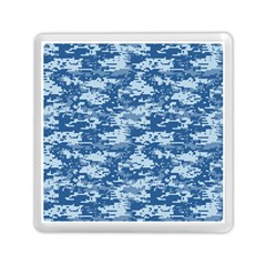 Camo Digital Navy Memory Card Reader (square)  by trendistuff