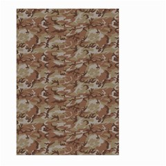 Camo Desert Large Garden Flag (two Sides) by trendistuff