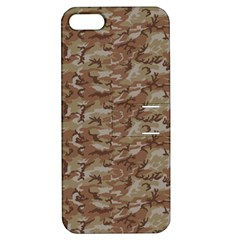 Camo Desert Apple Iphone 5 Hardshell Case With Stand by trendistuff