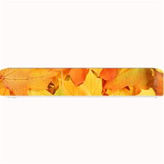 Yellow Maple Leaves Small Bar Mats by trendistuff