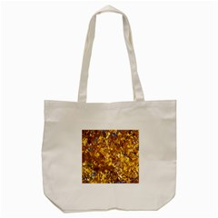 Yellow Leaves Tote Bag (cream)  by trendistuff