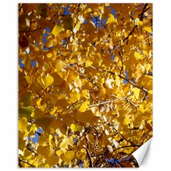 Yellow Leaves Canvas 16  X 20   by trendistuff