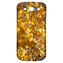 Yellow Leaves Samsung Galaxy S3 S Iii Classic Hardshell Back Case by trendistuff