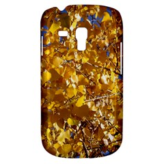 Yellow Leaves Samsung Galaxy S3 Mini I8190 Hardshell Case by trendistuff