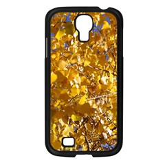 Yellow Leaves Samsung Galaxy S4 I9500/ I9505 Case (black) by trendistuff