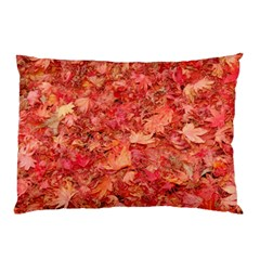 Red Maple Leaves Pillow Cases