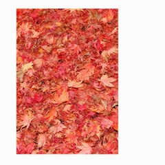 Red Maple Leaves Large Garden Flag (two Sides) by trendistuff