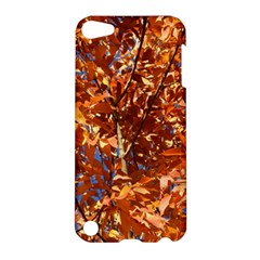 Orange Leaves Apple Ipod Touch 5 Hardshell Case by trendistuff