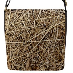 Light Colored Straw Flap Messenger Bag (s) by trendistuff