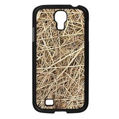 Light Colored Straw Samsung Galaxy S4 I9500/ I9505 Case (black) by trendistuff