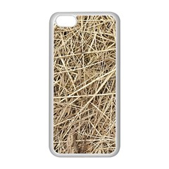 Light Colored Straw Apple Iphone 5c Seamless Case (white) by trendistuff