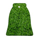 GREEN GRASS 2 Bell Ornament (2 Sides) Front