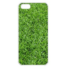 Green Grass 2 Apple Iphone 5 Seamless Case (white) by trendistuff