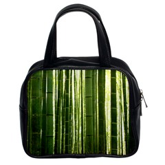 Bamboo Grove 2 Classic Handbags (2 Sides) by trendistuff