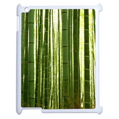 Bamboo Grove 2 Apple Ipad 2 Case (white) by trendistuff