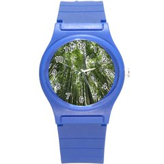 Bamboo Grove 1 Round Plastic Sport Watch (s) by trendistuff